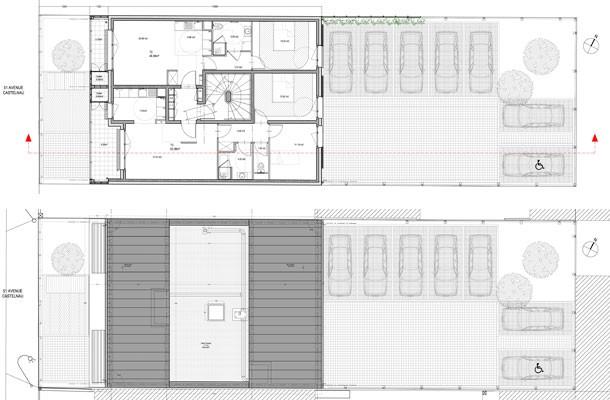 Drancy - Construction de 7 logements locatifs sociaux - plan 2