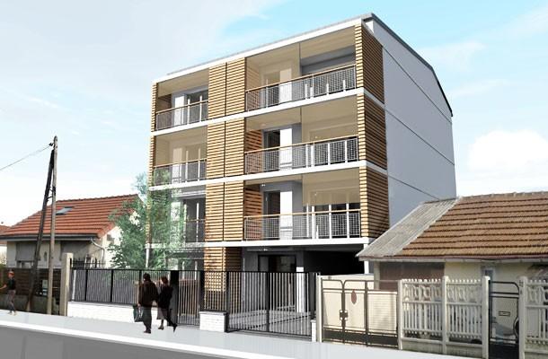 Drancy - Construction de 7 logements locatifs sociaux - extérieur