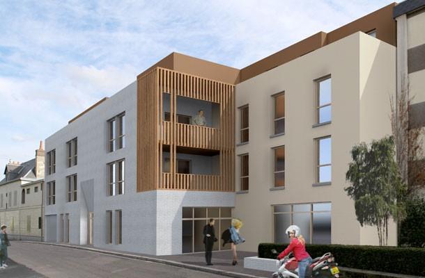 Logements locatif Rouen 2013 - extérieur