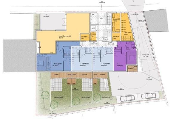 Logements locatif Rouen 2013 - plan -2