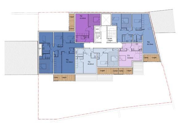 Logements locatif Rouen 2013 - plan -3