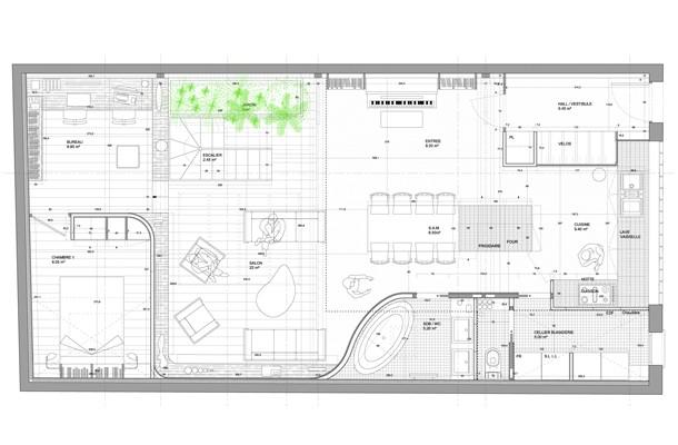 reconversion d 39 un loft en habitation familliale kozi architecture. Black Bedroom Furniture Sets. Home Design Ideas
